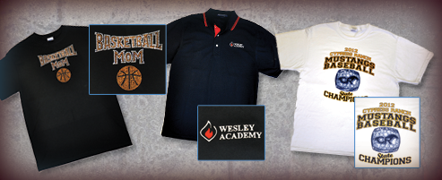 Accent Screen Printing And Embroidery - T shirt printing website template